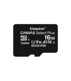 MEMORIA FLASH 16GB CANVAS SELECT PLUS MICROSD SIN ADAPTADOR KINGSTON
