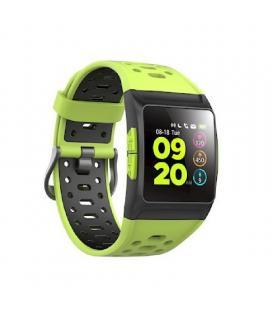 Reloj inteligente spc smartee stamina 9632y lima - pantalla 3.3cm ips - bt 4.2 - multideporte - notificaciones - gps - ipx8 -