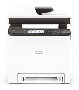 Multifuncion ricoh laser color m c250fwb fax - a4 - 25ppm - 256mb - usb - red - wifi - adf 50 hojas - duplex impresion -