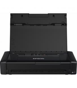 Impresora portatil epson inyeccion color wf - 110w workforce a4 - 14ppm - usb - wifi - wifi direct - adaptador ca
