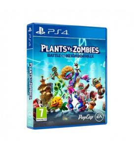 Juego para consola sony ps4 plants vs zombies: battle for neighborville