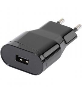 Cargador de pared vivanco 38347 - conector micro usb - 1a - negro