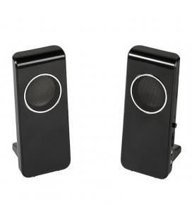 Altavoces 2.0 vivanco 36644 negros - 4w - conector auriculares - jack 3.5mm - alimentación usb