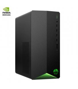 Pc pavilion gaming hp tg01-0042ns - i5-9400f 2.9ghz - 16gb - 1tb+256gb ssd - geforce gtx 1650 4gb - no odd - w10 - negro noche