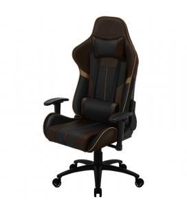 Silla gamer thunderx3 bc3 boss coffee black brown - marco acero - resposabrazos ajustables - mecanismo de mariposa - piston