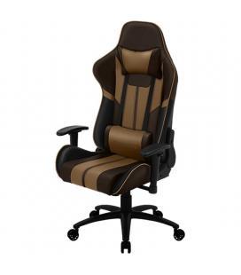 Silla gamer thunderx3 bc3 boss chocolate brown - marco acero - resposabrazos ajustables - mecanismo de mariposa - piston clase