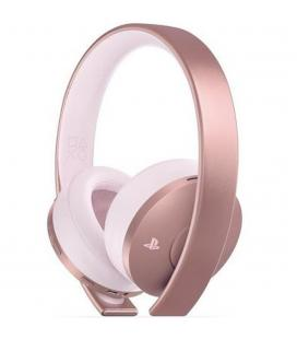 Auriculares sony ps4 rose gold wireless headset