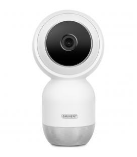Camara de seguridad eminent inalambrica full hd ip cam parabolica - inclinable con grabacion en micro sd - Imagen 1