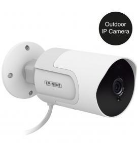 Camara de seguridad eminent inalambrica full hd ip cam outdoor con grabacion en micro sd