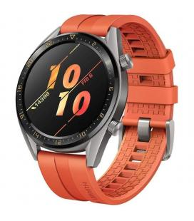 Reloj inteligente huawei gt active 46mm orange - pantalla 3.53cm amoled - bt4.2 - 5atm - notificaciones - gps - bat. 420mah