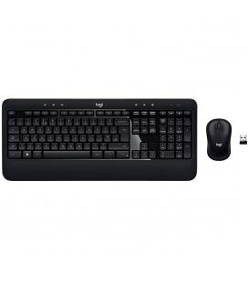 Teclado + mouse logitech wireless inalambrico advanced combo