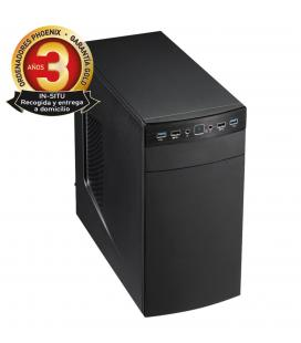 Ordenador pc phoenix topvalue intel core i3 8gb ddr4 240 gb ssd rw micro atx