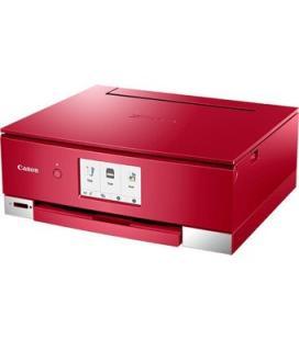 Multifuncion canon ts8350 inyeccion color pixma a4 - 15ppm - 4800ppp - usb - wifi - duplex impresion - rojo