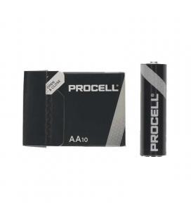 Pack 10 pilas aa (lr6) duracell procell id1500ipx10 - alcalina (zn/mno2) - 1.5v - 3,016mah - Imagen 1