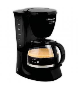 Cafetera de goteo orbegozo cg 4060 n - 800w - 12 tazas - capacidad 1.3l - filtro permanente extraible - placa calor