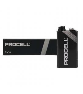 Pack 10 pilas 9v duracell procell id1604ipx10 - alcalina (zn/mno2) - 673mah - Imagen 1