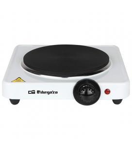 Placa eléctrica de cocina orbegozo pe 2710 - 1500w - termostato regulable - protección sobrecalentamiento