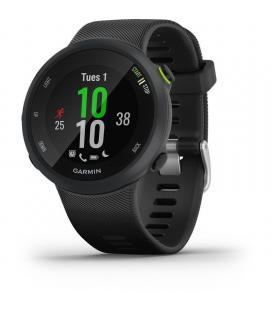 Reloj deportivo con gps garmin forerunner 45 negro - carcasa 42mm - multisport - notificaciones - 5atm - compatible con