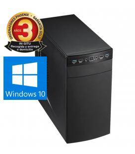 Ordenador pc phoenix topvalue intel core i3 8gb ddr4 240 gb ssd rw micro atx windows 10 - Imagen 1