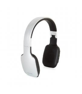 Auriculares bluetooth fonestar slim-g plata - bt 4.2 - drivers 40mm - batería recargable - jack 3.5 para uso con cable