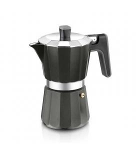 Cafetera bra perfecta black a170486 - 9 tazas - aluminio - fondo para inducción total - apta todo tipo cocinas - Imagen 1