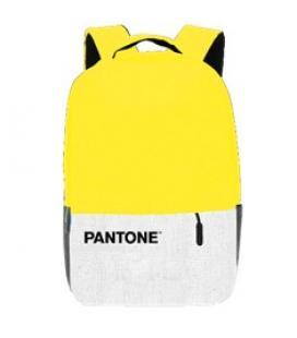Mochila pantone para portatil 15.6pulgadas + puerto usb amarillo