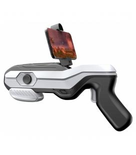 Pistola gaming newline electronics ar magic gun 4d realidad aumentada bluetooth blanco y negro - Imagen 1