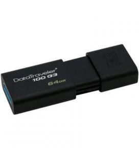 Kingston DataTraveler DT100G3 64GB USB 3.0 Negro