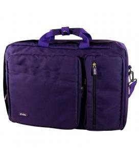 Maletín e-vitta versatile purple - para portátiles hasta 16'/40.6cm - interior reforzado - 2*compartimentos / 2*bolsillos int /