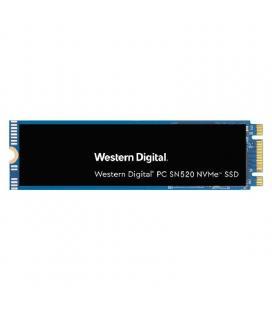 Disco sólido western digital sn520 pcie nvme 256gb - m.2 2280 - lec/esc 1700/1300mb/s