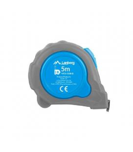 Flexometro lanberg mt01-0500-b - 5m - 19mm ancho - Imagen 1