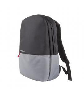 Mochila natec nto-1123 gaur black grey - 11 l - para portatiles hasta 15.6'/39.6cm - banda para trolley - nylon