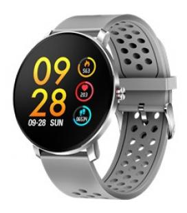 Pulsera reloj deportiva denver sw - 171 gris - smartwatch - ips - 1.3pulgadas - bluetooth - ip67 - Imagen 1