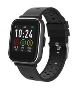 Pulsera reloj deportiva denver sw - 161 negro - smartwatch - ips - 1.3pulgadas - bluetooth - Imagen 1