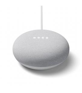 Altavoz inteligente google nest mini tiza - 3 micrófonos - wifi b/g/n/ac - bt5.0 - sonido 360º - control dispositivo por voz -