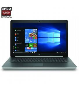 Portátil hp 17-by2001ns - i5-10210u 1.6ghz - 8gb - 512gb ssd - radeon 530 2gb - 17.3'/43.9cm hd+ - dvd rw - w10 - plata