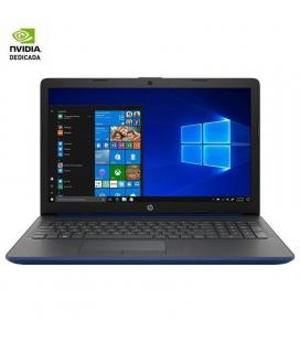 Portátil hp 15-da2013ns - i5-1021u 1.6ghz - 8gb - 256gb ssd - geforce mx110 2gb - 15.6'/39.6cm hd - no odd - w10 - azul lumiere