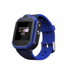 Reloj inteligente leotec allo 4g azul - pantalla táctil color 3.5cm - wifi - bt - gps real - videollamada - botón sos - - Imagen