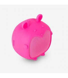 Altavoz bluetooth spc sound pups mouse pup rosa - 3w - alcance 10m - bat. 400mah - función manos libres