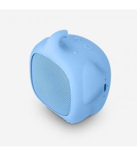 Altavoz bluetooth spc sound pups elephant pup azul - 3w - alcance 10m - bat. 400mah - función manos libres