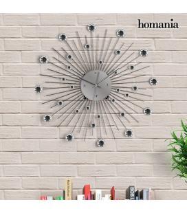 Reloj de Pared Metálico con Cristales Homania - Imagen 1
