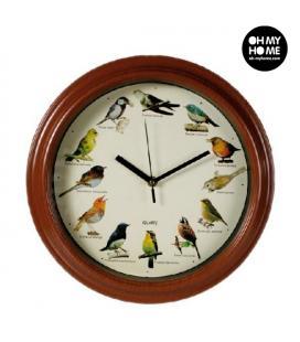 Reloj de Pared Sonidos de Pájaros Oh My Home - Imagen 1