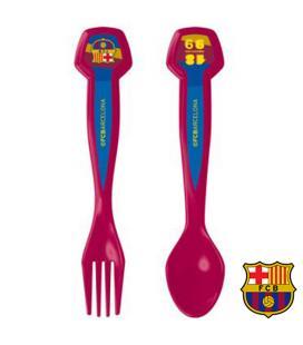 Set de 2 Cubiertos F.C. Barcelona - Imagen 1