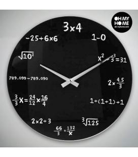 Reloj de Pared Matemáticas Oh My Home - Imagen 1