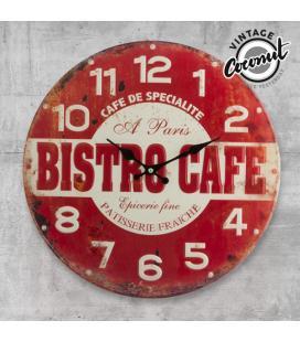 Reloj de Pared Bistro Cafe Vintage Coconut - Imagen 1