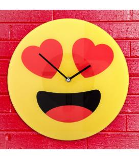 Reloj de Pared Emoticono Corazones Gadget and Gifts - Imagen 1