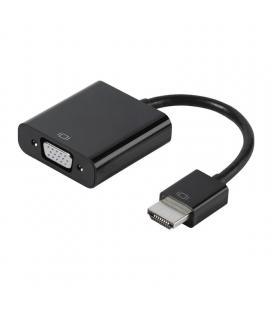 Adaptador hdmi a vga vivanco 47143 - conectores hdmi macho / vga hembra - soporta audio y vídeo