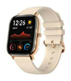 Pulsera reloj deportiva xiaomi amazfit gts gold -  smartwatch -  1.65pulgadas amoled -   ntsc -   resistente al agua 5 atm