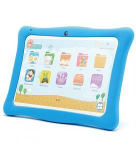Tablet infantil innjoo k102 blanca con marco protector azul - qc - 1gb ram - 16gb - 10'/25.4cm - android 8.1 go - bat 4000mah -