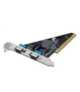 TARJETA PCI DIGITUS 2 PUERTOS, ADD-ON 2 SOPORTES RANURAS DB9